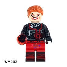 1PCS model building blocks action figures starwars superheroes Red Lantern house hobby learning Dolls diy toys for children gift(China)