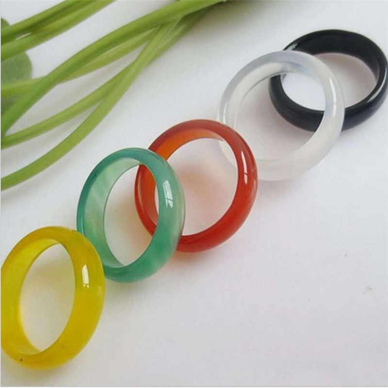 Moda barato jóias natural strass anel feminino moda jóias presentes atacado