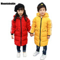 High Quality Winter Children's White Duck Down Parkas Boys Girls Hooded Jacket Coats 3-11Y Kids Thicken Outwear Windproof SC649