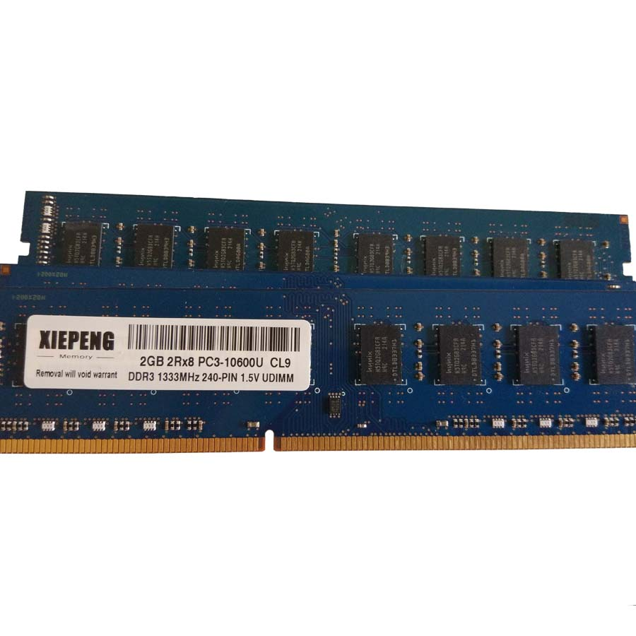 Buy Desktop Memory 2gb 2rx8 Pc3 10600u 1333mhz Ddr3 Ram Pc 8500u 8g 1333 Mhz 4gb 10600 240 Pin Udimm From Reliable Rams Suppliers On Xiepeng