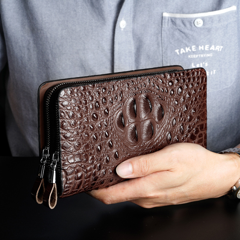 Wallet Alligator Purse Card-Holder Clutch-Bag Business-Money Male Large-Capacity Fashion