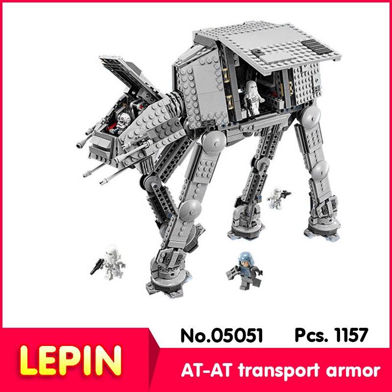 ФОТО LEPIN 05051 1157Pcs Star Wars Series AT-AT Transport Armor Model Building Blocks Bricks    10178