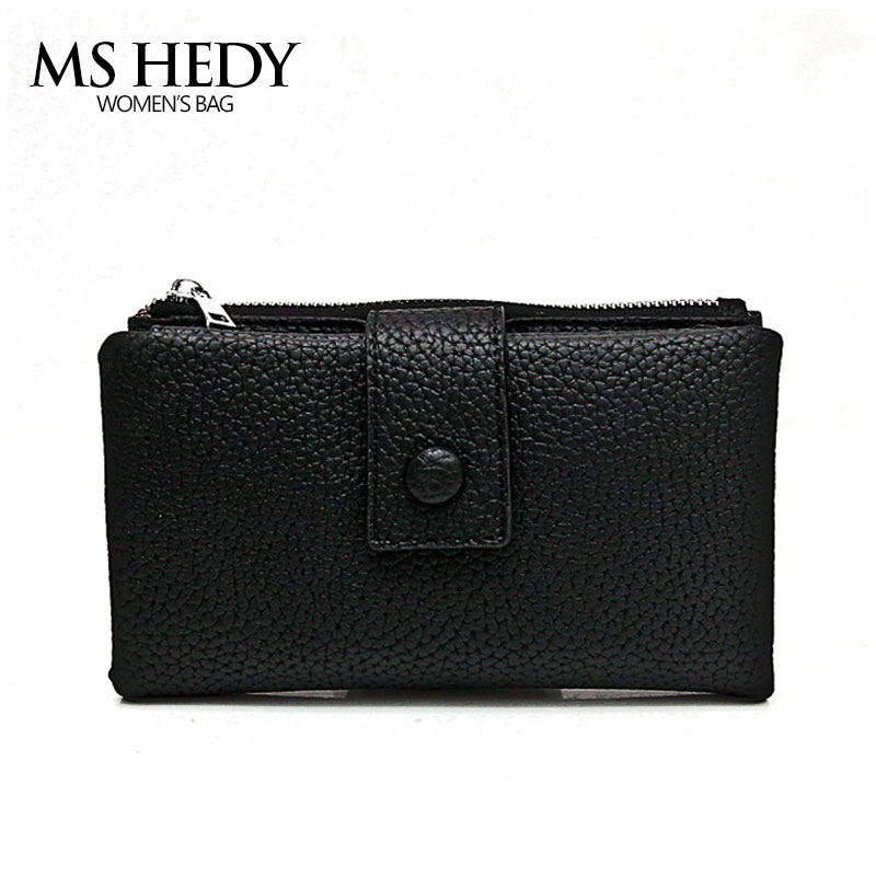 MS HEDY Women Wallet High Quality Designer Hasp Solid Color Card Bag Standard Female Purse Ladies Clutch Wallet Key Chain Holder 2016 new brand short women s wallet high quality guarantee designer s high heeled shoes hasp purse for lady free shipping