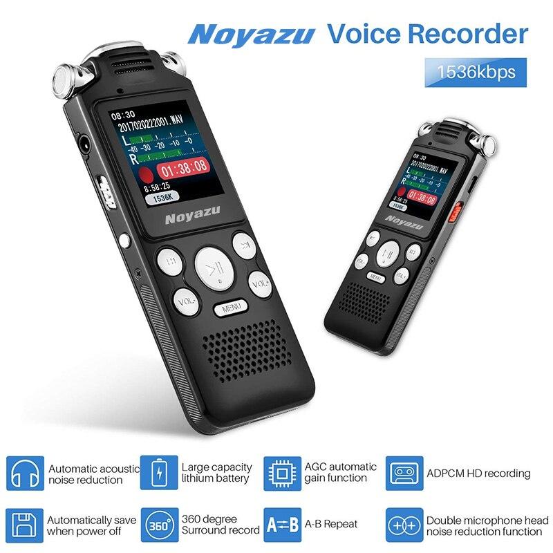 In Professionelle Stimme Aktiviert Digital Audio Voice Recorder 8 Gb 16 Gb Usb Stift Nicht-stop 100hr Aufnahme Pcm 1536 Kbps Hifi Mp3 Player Ausgezeichnete QualitäT
