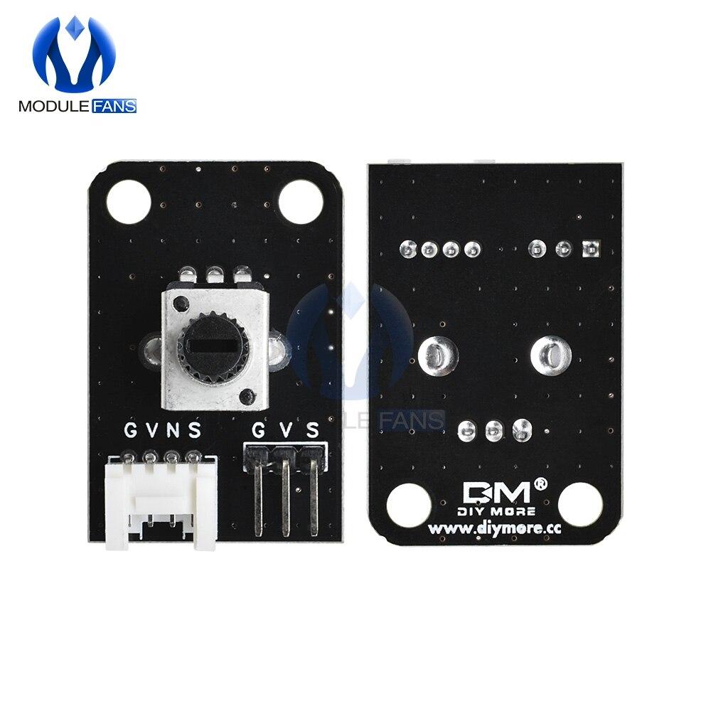Diy Электронный 10K Ом роторный ползунковый потенциометр PIC AVR MCU DSP аналоговый I/O IO Нижняя плата для Arduino UNO diymore