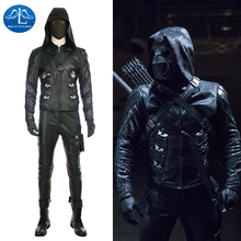 MANLUYUNXIAO Green Arrow Costume Quentin Lance Costume Halloween Cosplay Costume For Adult Men Full Set Men Basic Custom Made цена и фото