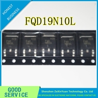 10 pçs/lote FQD19N10L FQD19N10 19N10 15A100V TO 252 REMENDO MOS TUBO|tube|tube patch  -