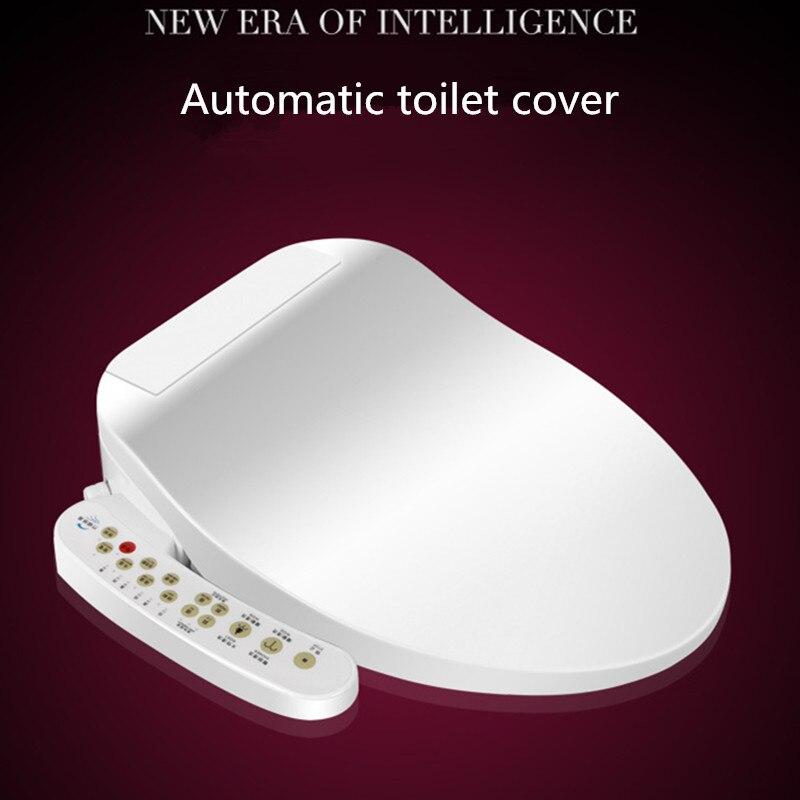 Siège de toilette chauffant Intelligent Type chaud instantané WC Sitz couvercle de toilette automatique Intelligent couverture de Bidet électrique femmes enfant