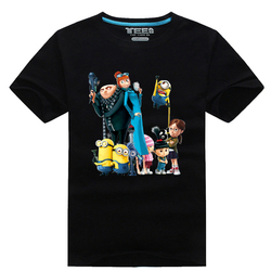 New 2017 direct shot frees hipping cartoon despicable me t shirts minion printed shirt 100 cotton.jpg 250x250