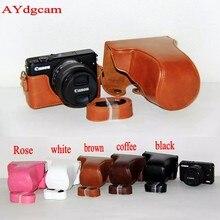 Хороший Камера видео сумка для Canon EOSM10 EOS M10 EOS M100 Камера чехол Защитный чехол кожи