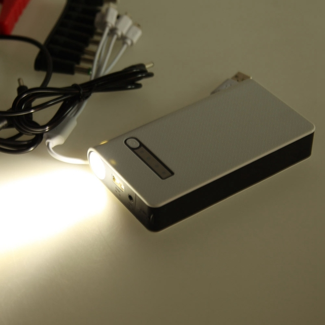 1 USB Port 12V 50800 mAh Car Battery Charger US Plug Car Starter Emergency Battery Car Charger Power Bank Free Shipping
