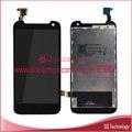 Lcd touch screen digitador assembléia para htc desire 310 display lcd preto frete grátis