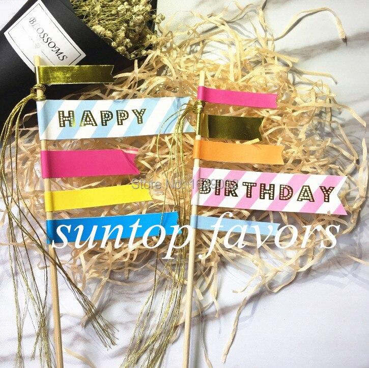5sets Happy Birthday Cake Toppers Birthday Cake