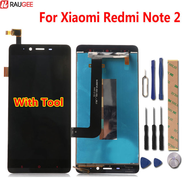 For Xiaomi Redmi Note 2 LCD Display Touch Screen Digitizer Glass Panel