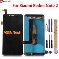 For Xiaomi Redmi Note 2 LCD Display+Touch Screen Digitizer Glass Panel For Xiaomi Redmi Note 2 Prime 1920X1080 5.5 inch