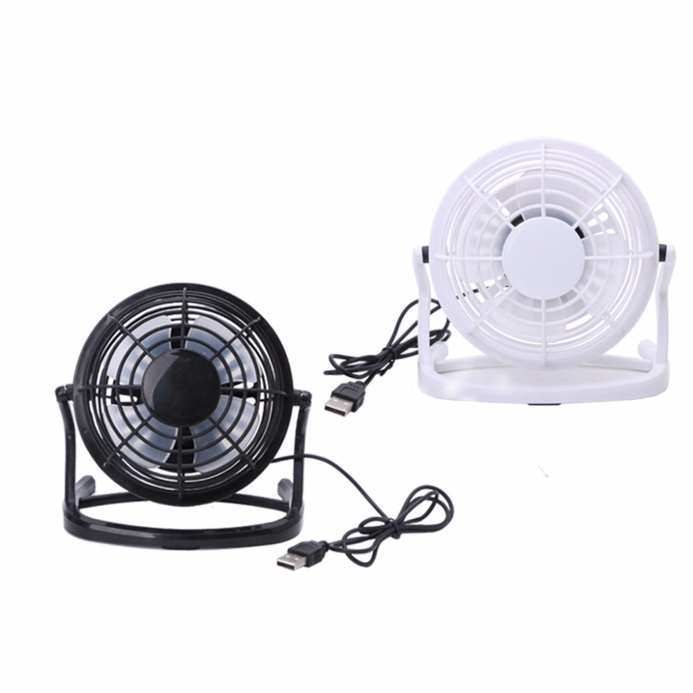 Mini Portable Super Mute Plastic USB Fan Desk Cooling Laptop Notebook PC Cooler New 2018 fan usb cooler cooling desk mini fan portable super mute pc usb notebook laptop computer with key switch