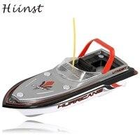 HIINST tàu drop NEW RED Đài Phát Thanh Điều Khiển Từ Xa Siêu Mini Speed Boat Động Cơ Kép Kid Toy Aug15