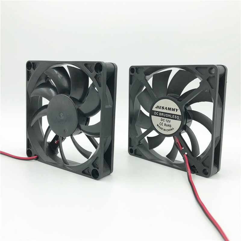 Silent <font><b>80x80x15</b></font> cooler <font><b>fan</b></font> 12V 24V 5V USB Sleeve/TWOBALL bearing 80mm CPU Cooling <font><b>Fans</b></font> heat sink Computer Case Radiator image