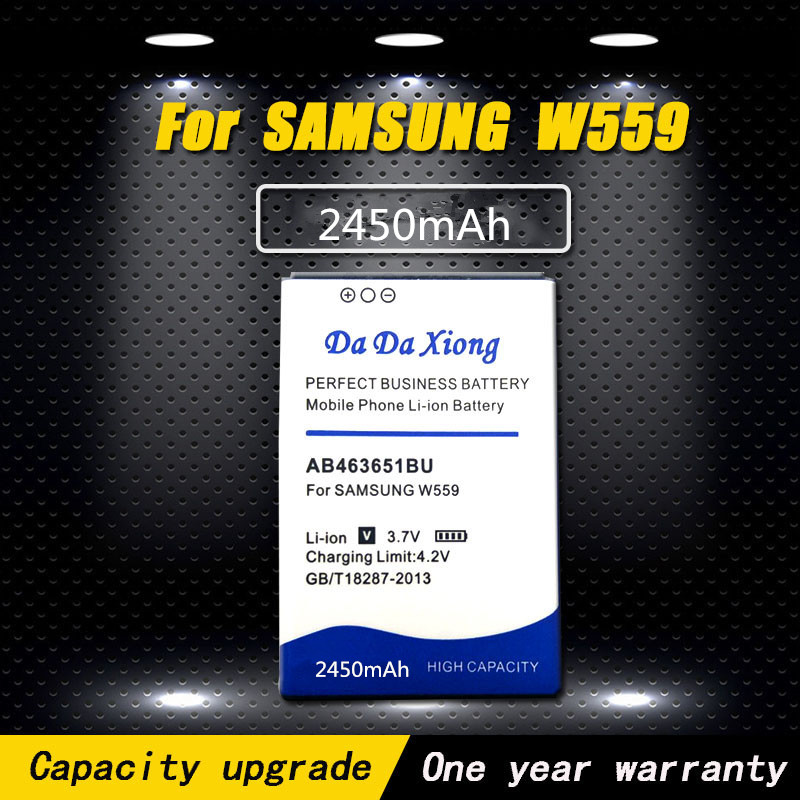 New 2450mAh AB463651BU AB463651BE <font><b>Battery</b></font> for <font><b>Samsung</b></font> S7070 S5608 S3370 <font><b>L700</b></font> w559 S5628 C3222 F400 M7500 M7600 S3650 S3830 S5600 image