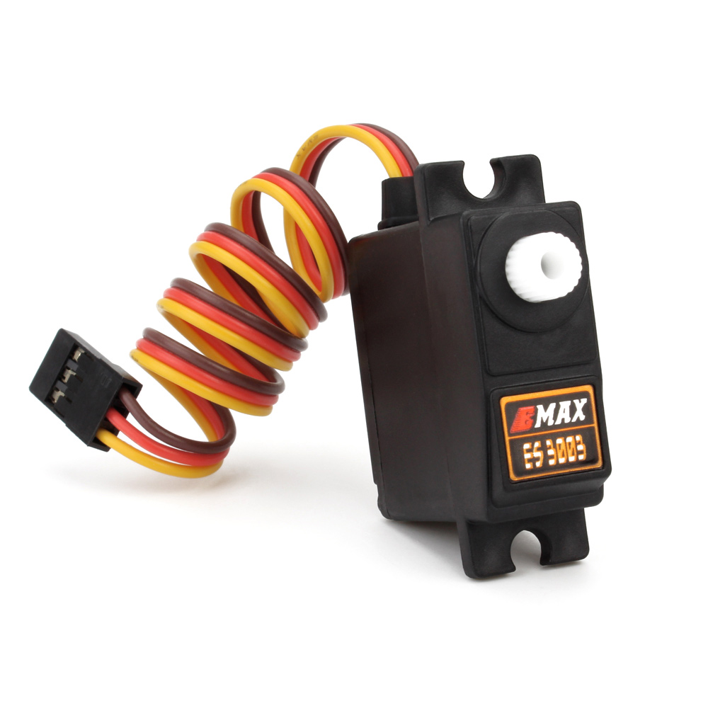 Image 3 - Official Emax Servo ES3003 17g 3.5kg 0.13sec 23T Plastic Gear Analog For RC plane ES3103 Upgrade-in Parts & Accessories from Toys & Hobbies