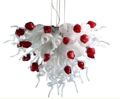 Lampadario Bianco E Cristallo : Matrimonio decorativo bianco e rosso a forma di cuore catena