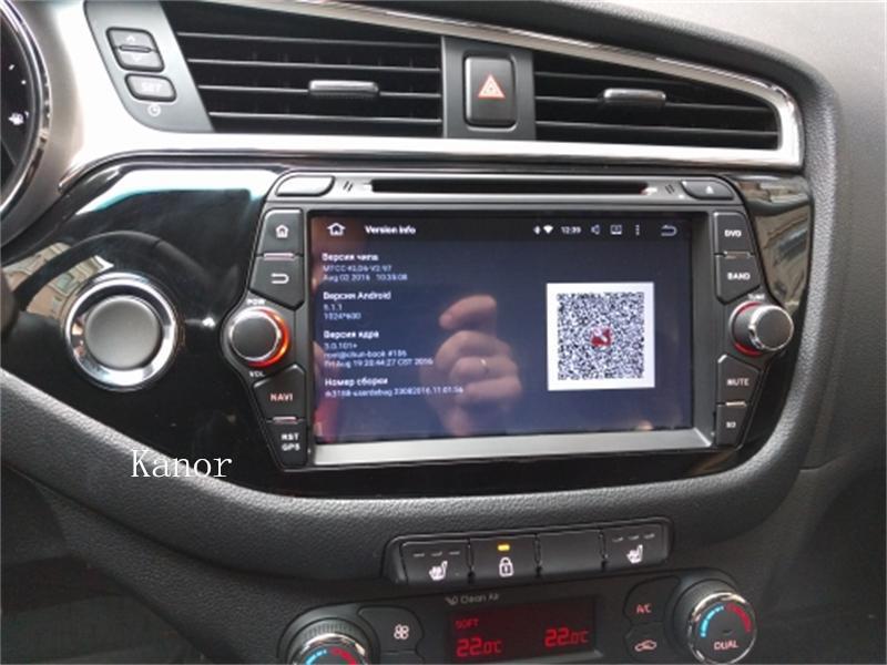 ceed radio installed 2