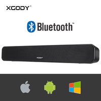 Free Russia Post Delivery XGODY G807 Wireless Soundbar Bluetooth V2.1 Stereo Sound Subwoofer Speaker for TV Home Theater for PC