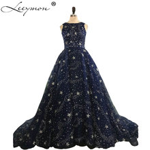 Leeymon Real Images Luxury Long Evening Dress Dresses 2019