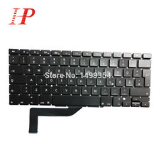 5 Pcs/Lot pour Macbook Pro Retina 15.4 ''A1398 allemagne/allemand GR clavier MC975 MC976 ME664 ME665 ME293 ME293(China)