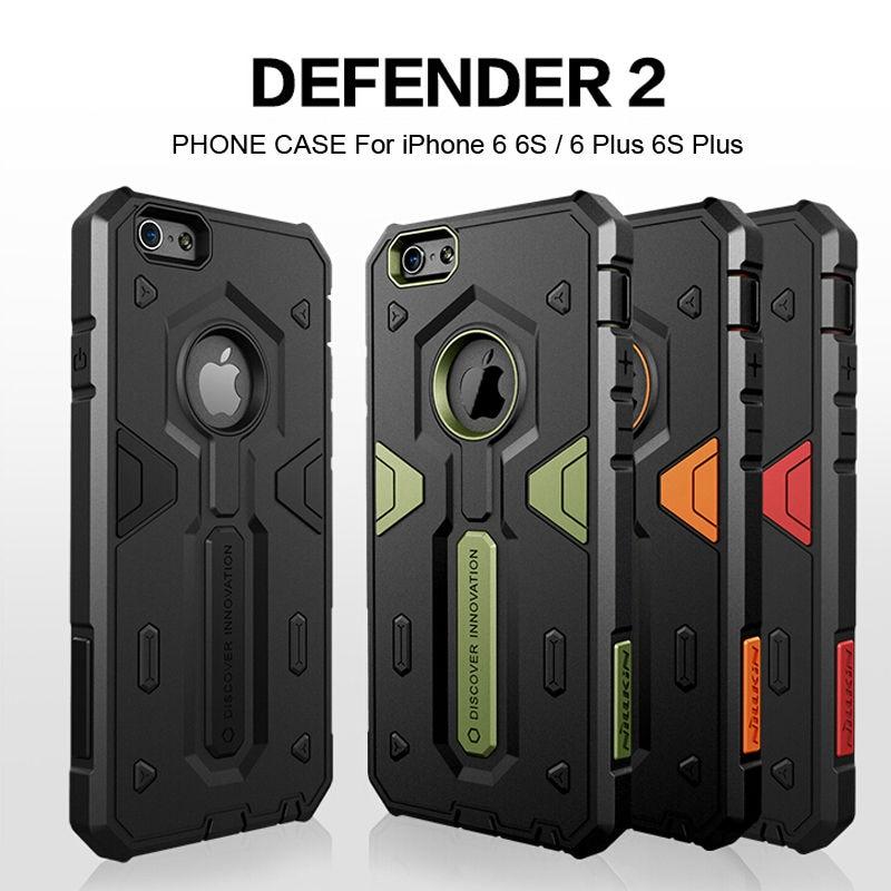 IPhone 6 üçün iPhone 6 Plus Case Cover Nillkin Defender 2 Lüks - Cib telefonu aksesuarları və hissələri - Fotoqrafiya 2
