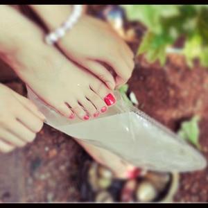 Image 3 - حار! 1 حزم تقشير أقدام قناع التقشير الجوارب العناية باديكير الجوارب إزالة الجلد الميت البشرة Suso الجوارب ل باديكير