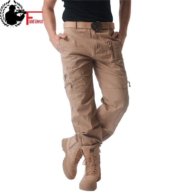 785f1a443e4f3 Mens Cargo Pants Male Tactical Pants Military Army Style Mens Casual Jogger Camo  Multi Pocket Baggy Straight Trousers Camouflage