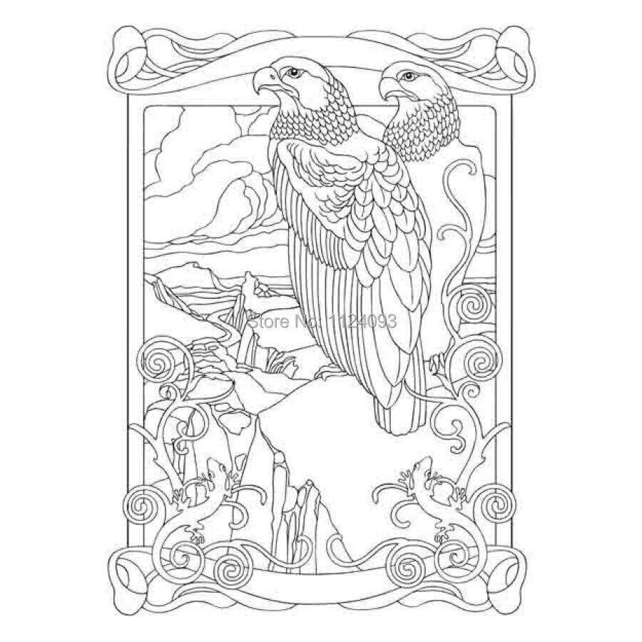 - Booculchaha Art Nouveau Animal Designs Coloring Book Creative