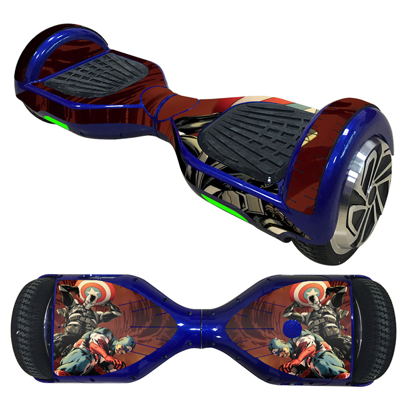 Hover Board Balancing Scooter Hoverboard Skin Sticker Protective Cover Decal Two-Wheeled Balancing Scooters Stickers