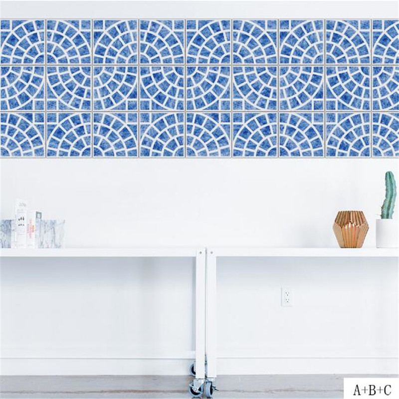 Idfaif Kitchen Wallpaper Oil Proof Ceramic Tile Self Adhesive Mosaic Wall Stickers In From Home Garden On Aliexpress Alibaba Group