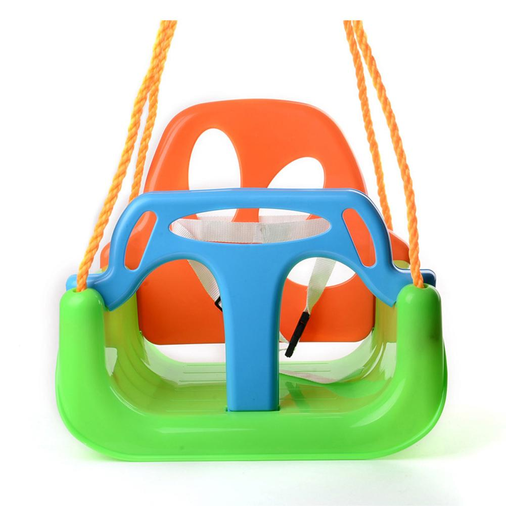 Maison enfants balançoire 3 en 1 bébé balançoire suspendus panier jouets éducatifs maternelle bébé balançoire intérieur extérieur jouets pour enfants