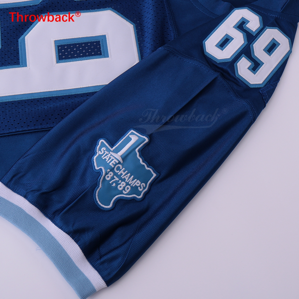 0f016cb35 BILLY BOB  69 VARSITY BLUES MOVIE FOOTBALL JERSEY STATE CHAMPS 2018 NEW-in  America Football Jerseys from Sports   Entertainment on Aliexpress.com