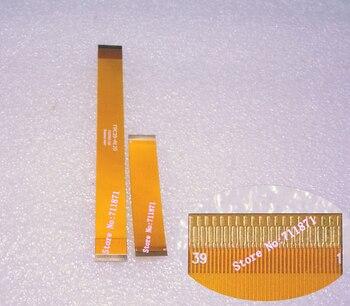 Chapado en oro de 0,3 paso 39 P de circuito impreso Flexible Cable FPC 6cm 12cm espacio entre 0,3mm 39Pin FPC Cable línea 39 pines FFC FPC línea