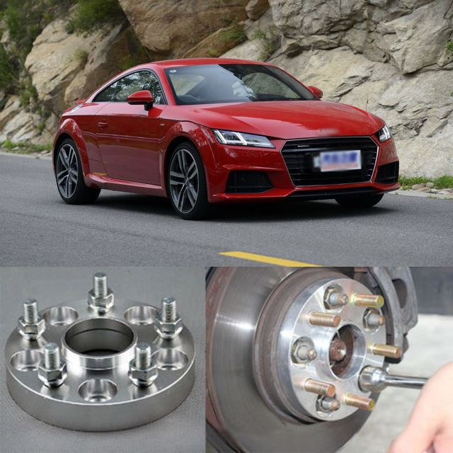 4pcs new billet 5 lug 14 1 5 studs wheel spacers adapters for audi rh aliexpress com Audi A3 Manual PDF Audi A3 Owner Manual