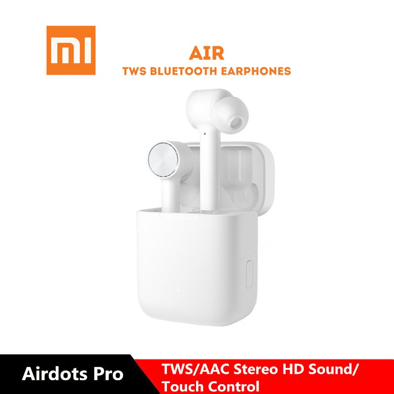 Original Xiaomi Mi Airdots Pro Air TWS Bluetooth Earphones ANC Wireless Stereo Sound Earbuds AAC With Mic Auto Pause Control