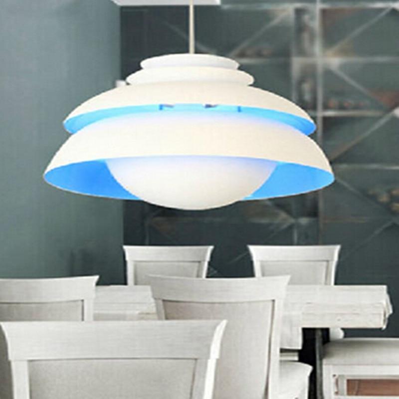 Здесь можно купить  Creative Concert Concept Aluminum Led e27 Pendant Lights Multicolors  Aluminum Pendant Lamps for Dining Room Living Room 1784  Свет и освещение