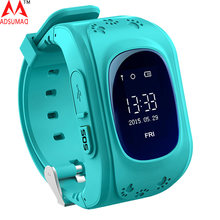Q50 Smart Phone Watch Children Kid Wristwatch Q50 GSM GPRS GPS Locator Tracker Anti-Lost Smartwatch Child Guard for iOS Android(China)