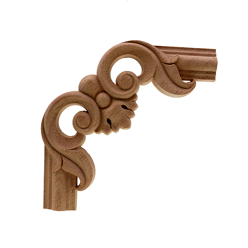VZLX Antique Decorative Wood Appliques For Furniture Decor Cabinet Door  Irregular Wooden Mouldings Flower Carving Figurine-in Figurines &  Miniatures from ... - VZLX Antique Decorative Wood Appliques For Furniture Decor Cabinet