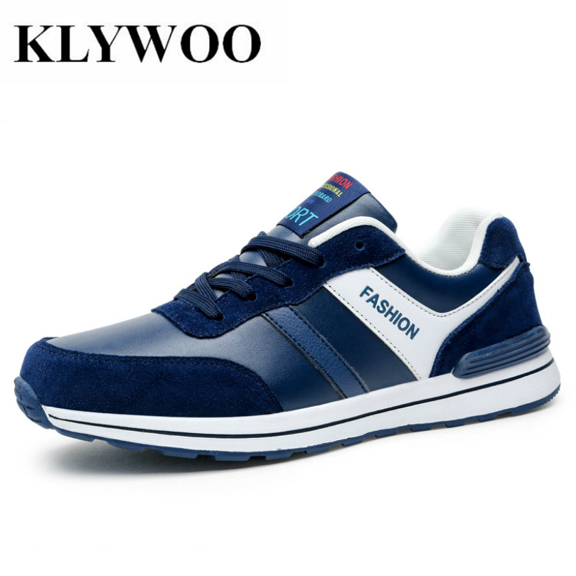 KLYWOO Big Size 38-45 Leather Shoes Mens Casual Breathable Moccasins Spring Fashion Men Sneakers Brand Luxury Mens Driving Shoes klywoo breathable men s casual leather boat shoes slip on penny loafers moccasin fashion casual shoes mens loafer driving shoes