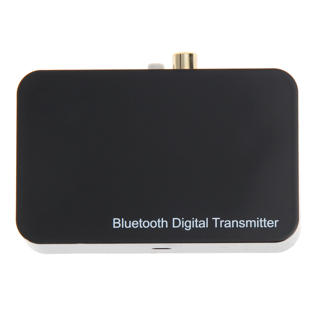 Bluetooth Digital music Transmitter Aptx Wireless Audio Adaptor Optical Coaxial input EU version plug