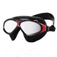 Swim Goggles Uv Chống Sương Mù 2017 New Chất Lượng Cao Bơi Hộp Lớn Không Thấm Nước Chống sương mù Gương Kính Bơi