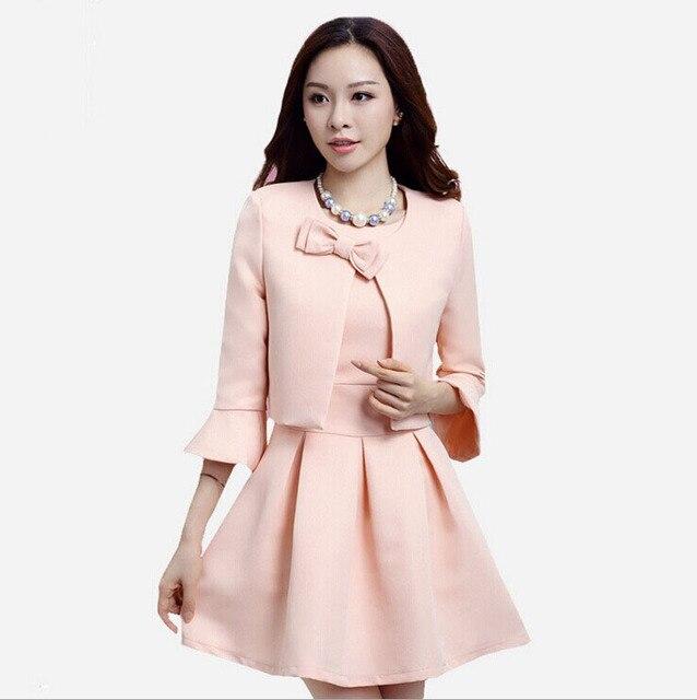 Aliexpress.com : Buy Womens Fashion Elegant Dress Suits New 2015 ...