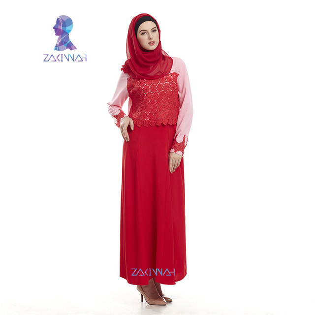 New fashion lace sequins turkish abaya dresses for womans plus size abayas islamic clothing muslim dresses robe free shipping