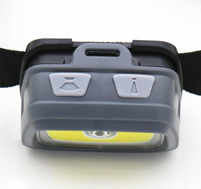 Mini Headlamp 5000 Lumens R5 LED Waterproof AAA Headlight Red Green Head Lamp Light Flashlight Torch +Warning lights+SOS Whistle