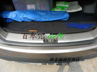 Stainless Steel Inside Rear Bumper Door Sill Plate For 2010 Up Hyundai Ix35